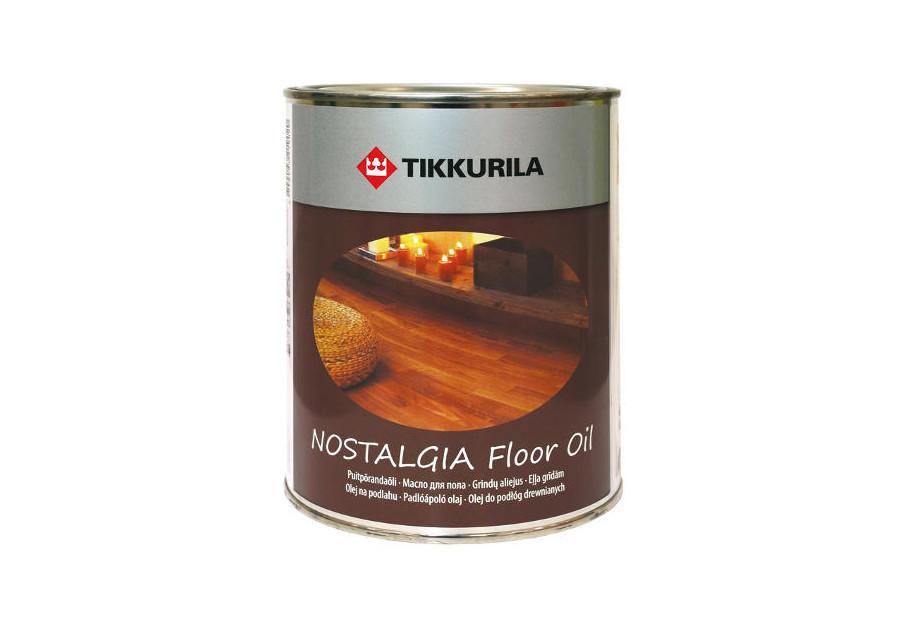 Масло для пола Nostalgia Floor Oil, Тиккурила (Tikkurila), 1л