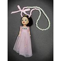 """Брелок детский """"Кукла в платье"""""""