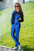 Женский спортивный стеганный костюм тройка , фото 1
