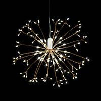 LED фейерверк с пультом диа. 40см теплый белый 109259