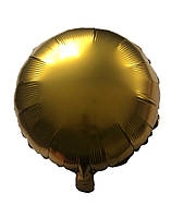 Круг сатин Золотой 43*43