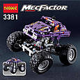 "Конструктор Decool 3381 ""Монстрогрузовик"" 329 деталей. Аналог Lego Technic 42005, фото 3"