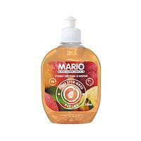 """Крем-мыло """"Марио"""" 0,3л.пуш-пул Персик (24шт. / Уп.)"""