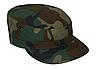 Кепка польова армійська камуфляж вудланд бавовна 100% ріп-стоп MFH Німеччина, фото 3