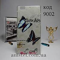 Чехол для Lenovo k900 панель накладка бабочки