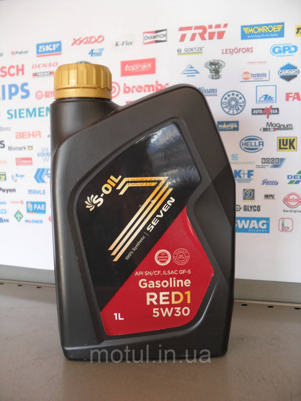 Моторне масло S-oil seven red1 5w30