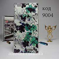 Чехол для Lenovo k900 панель накладка цветы карандашом