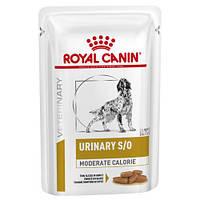 Корм Роял Канін Урінари С/О Royal Canin Urinary S/O moderate вологий для собак лікування МКБ 100г , фото 1