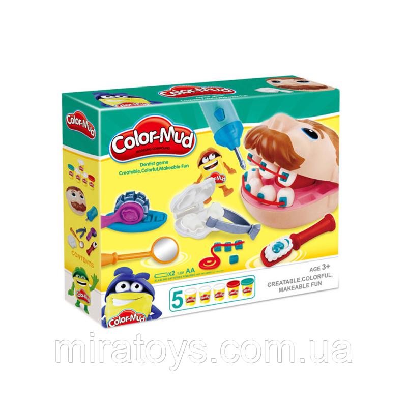 """✅Игровой набор """"Мистер Зубастик"""" с аксессуарами аналог Play-Doh"""