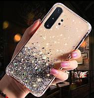 Блестящий чехол с серебряной фольгой Xiaomi Redmi 7A