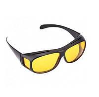 Очки антиблик, антифары для водителей HD vision Glasses 2в1 арт. 34572