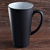 Чашка сублимационная хамелеон латте/480мл.(Черная)