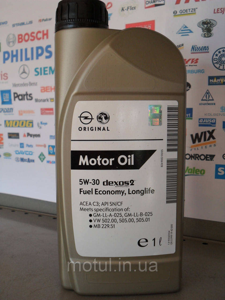Моторне масло Gm 5w30 1л