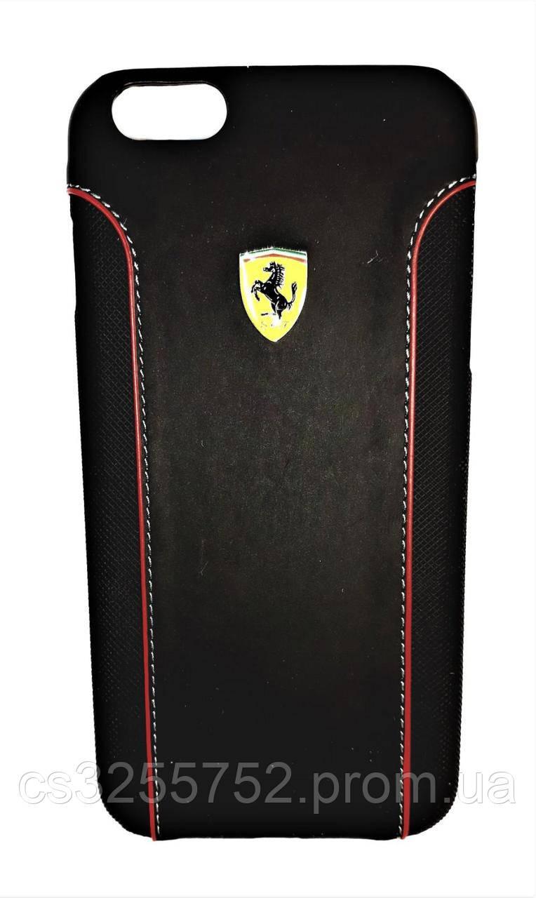 Ferarri Leather Hardcase iPhone 6 plus black