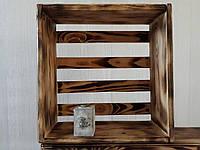 Деревянная Настенная полка ящик контейнер   любые цвета