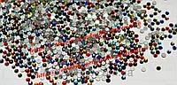 "Стразы стеклянные ""Mixed Colors"" (аналог swarovski) ss3 (1.3 mm)"
