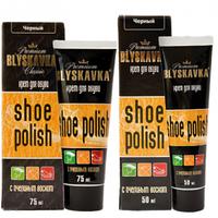 """Крем для обуви """"Blyskavka"""" 50мл темно корич.ТЮБИК"""
