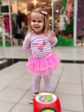 Дитячий комплект для дівчинки Одяг для дівчаток 0-2 Yo Польща 118-212 Рожевий