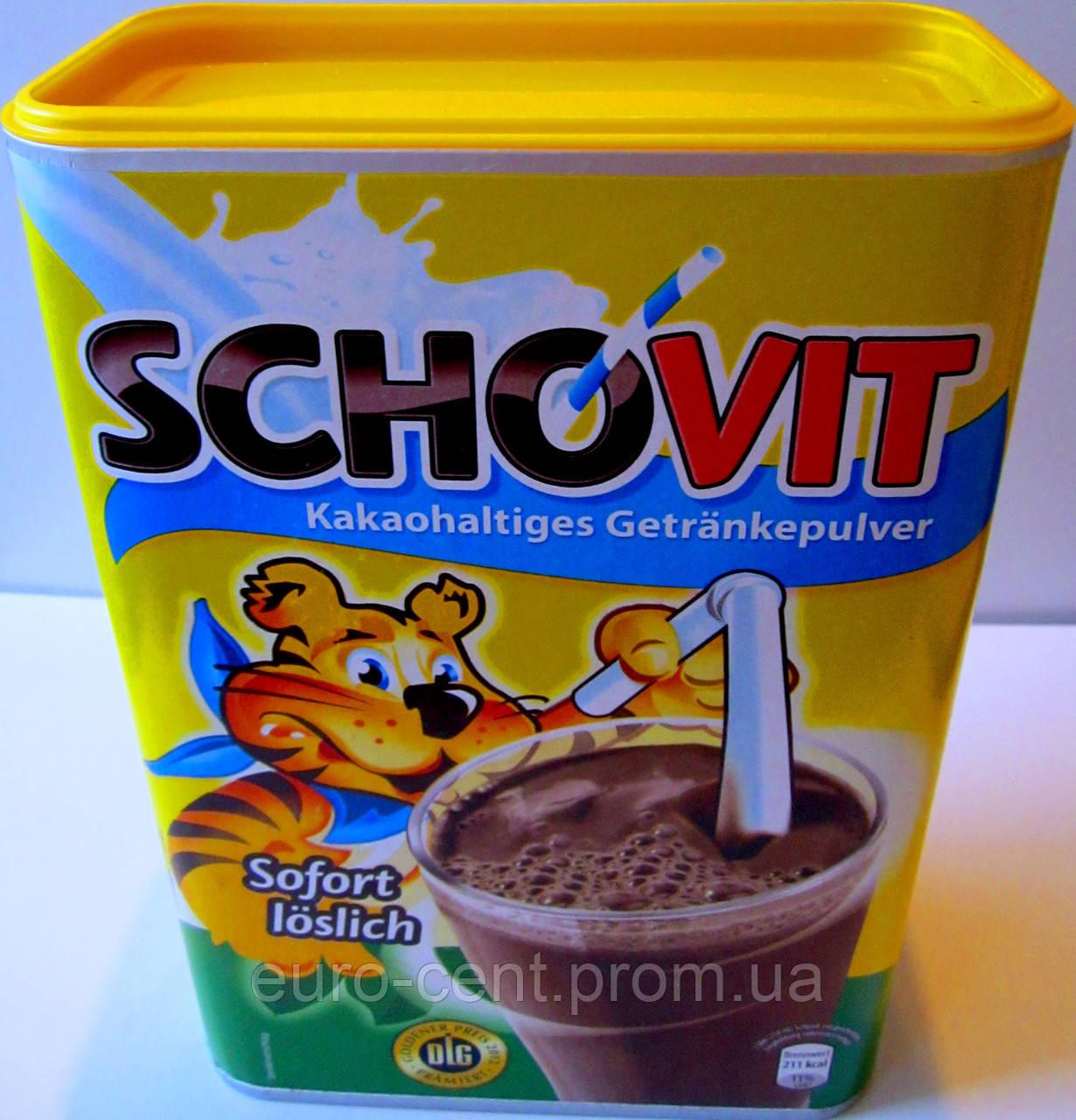 Детское какао SchoVit 800г
