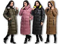 Женское пальто на синтепоне зима