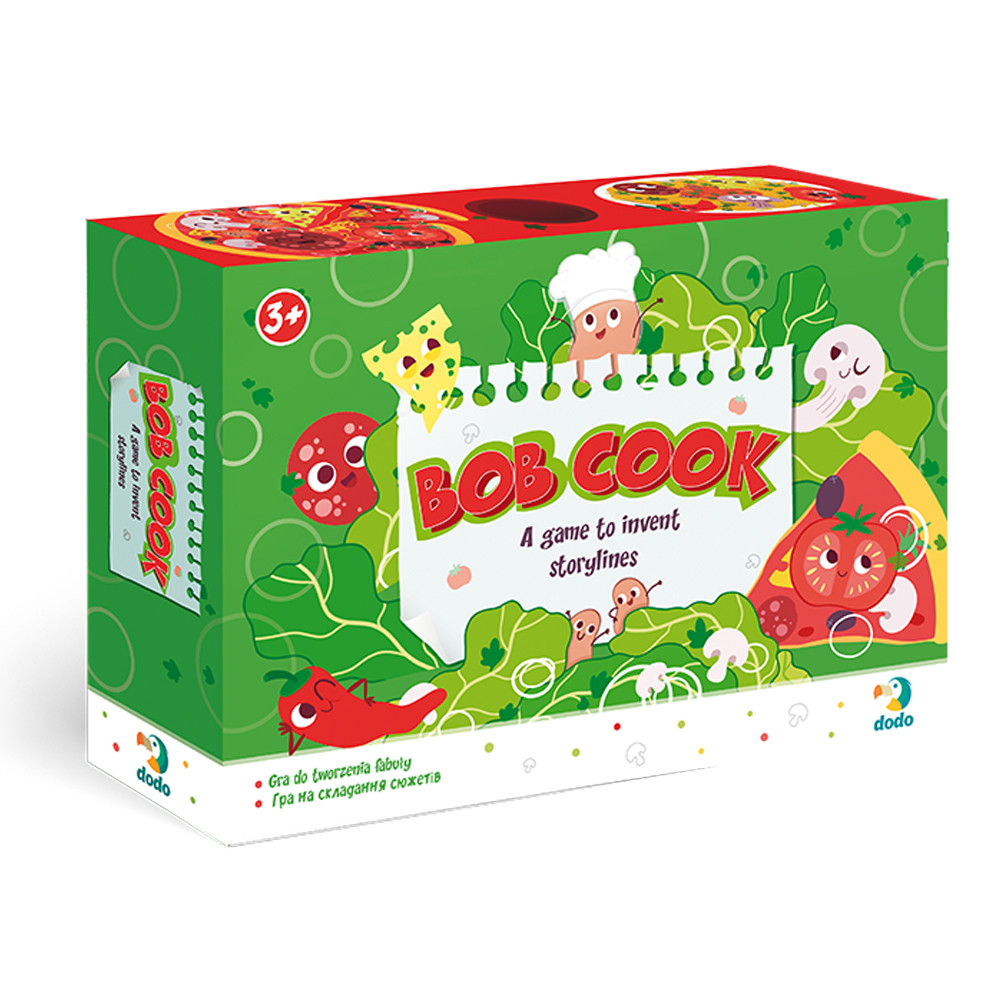 Игра на составление сюжета DoDo Toys 300211 Боб Кок