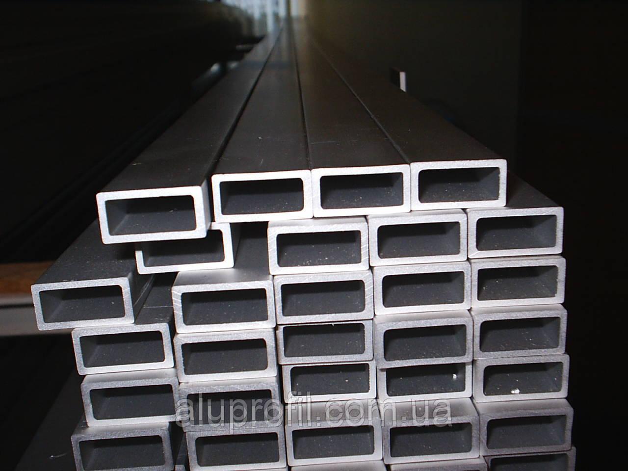 Алюминиевый профиль — труба алюминиевая прямоугольная 25х20х1,5 AS