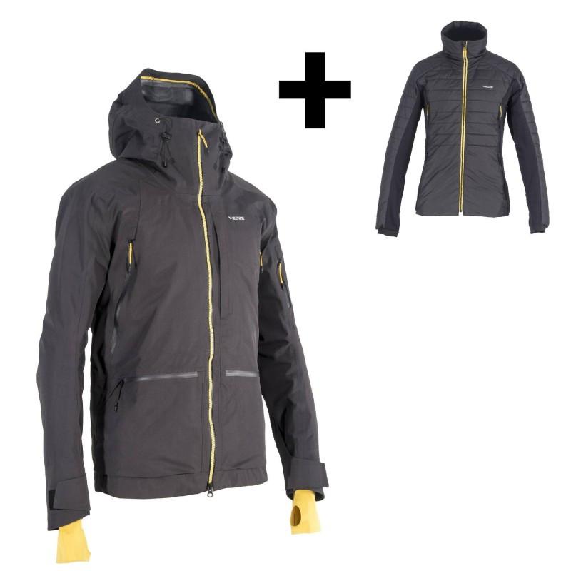 Куртка горнолыжная мужская Wedze freeride JKT SFR 900