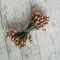 Тычинки золотые на проволоке., фото 1