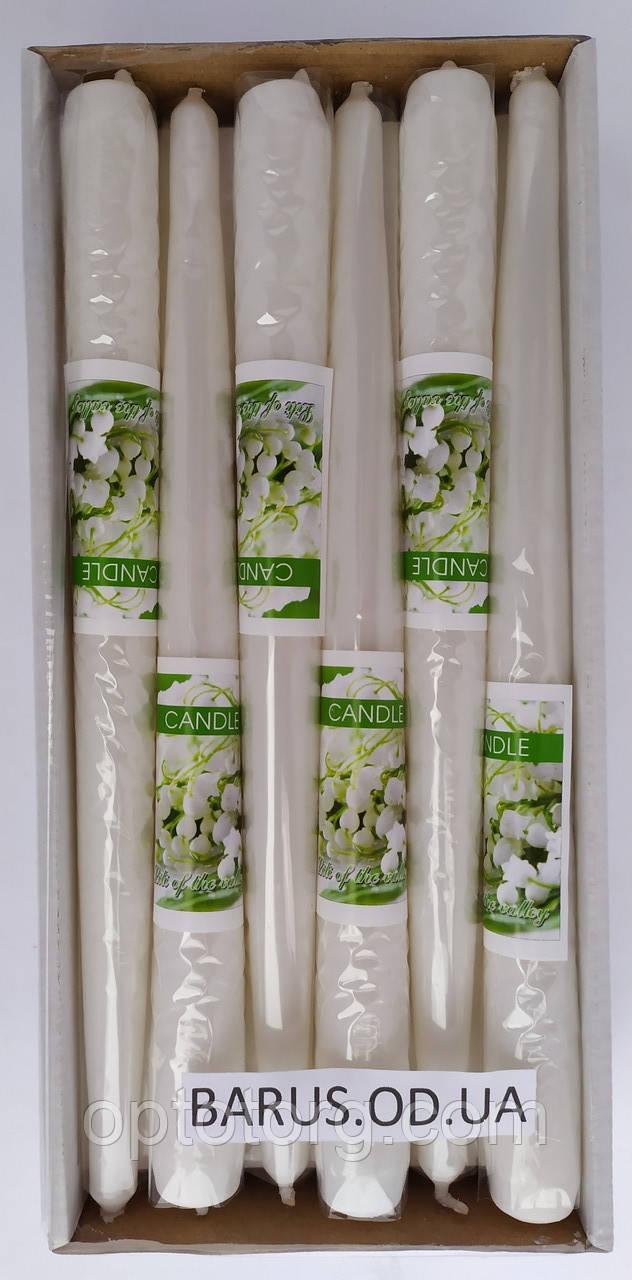 Свечи декоративные BARTEK ароматизированные Ландыш