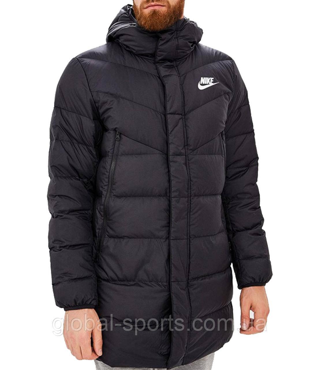 Чоловічий пуховик Nike M Nsw eup dwn Fill Wr Parka Hd Rus (Артикул: AO8915-010)