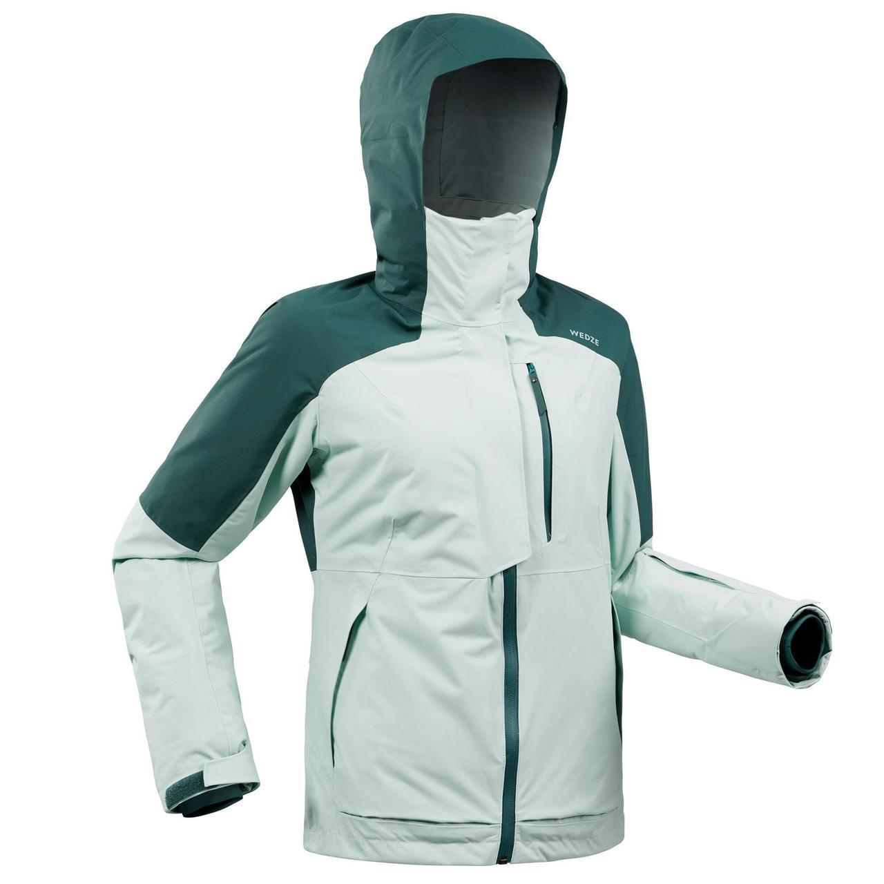 Куртка горнолыжная женская Wedze JKT SKI FR 100
