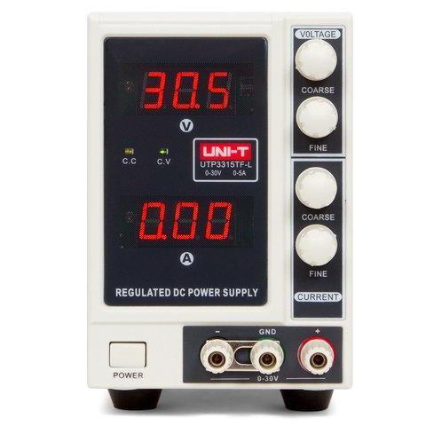 Лабораторный блок питания Uni-T UTP3315TFL, 30B, 5A