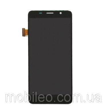 Дисплей (LCD) Bravis S500 Diamond с тачскрином, чёрный