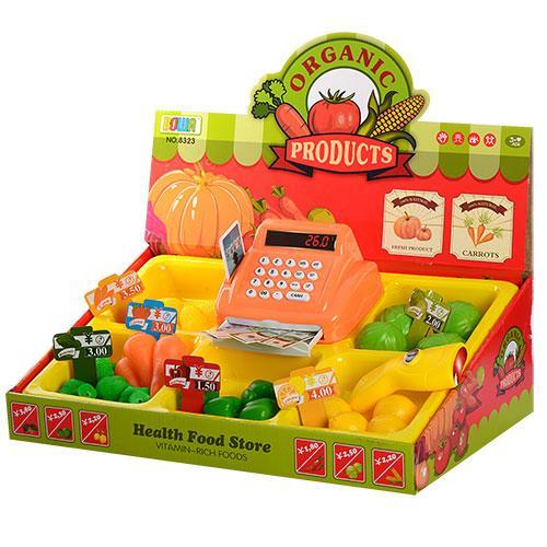 Игровой набор магазин с кассовым аппаратом и продуктами 8323
