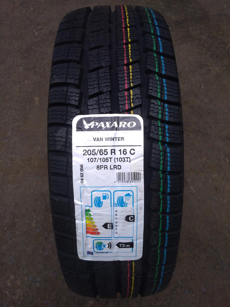 Paxaro 205/65 R 16C VAN Winter [107/105]T