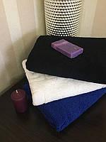 Полотенце коврик для ног  50х70 см Аisha белый  (Узбекистан)