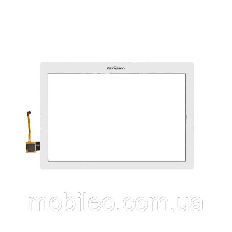 Сенсорный экран (тачскрин) для планшета Lenovo IdeaTab A10-70F A10-70L Tab 2 #101-1947-V6 #101-1947-V2 white