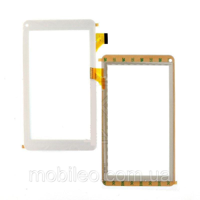 Сенсорный экран (тачскрин) для планшета Nomi (111186) A07000 A07003 A07004 white
