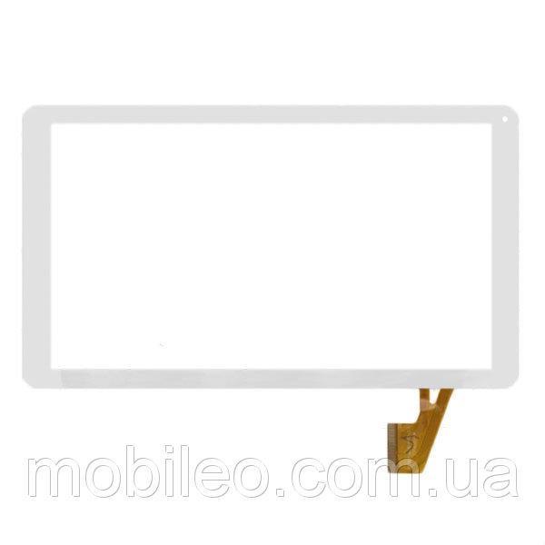 Сенсорный экран (тачскрин) для планшета Nomi (146254) A10101 A10102 10.1 Reellex Tab-10E-02 50pin white