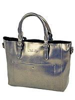 Жіноча сумка з натуральної шкіри ALEX RAI 10-04 8223 blue, фото 1