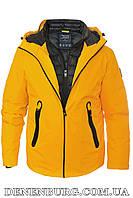 Куртка зимняя мужская TIGER FORCE 19-70570 жёлтая