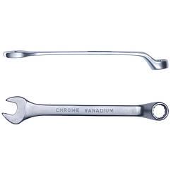 Ключ рожково-накидной глубокий 16мм CrV satine Sigma (6024161)