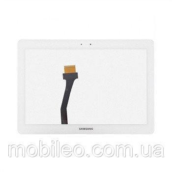 Сенсорный экран (тачскрин) для планшета Samsung N8000 Galaxy Note N8010 P5100 white ориг. к-во