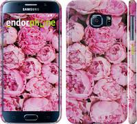 "Чехол на Samsung Galaxy S6 G920 Пионы v3 ""2739c-80"""