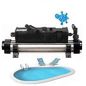 Электронагреватель для басейна Elecro Flow Line 8Т3AВ Titan 12 кВт 400В