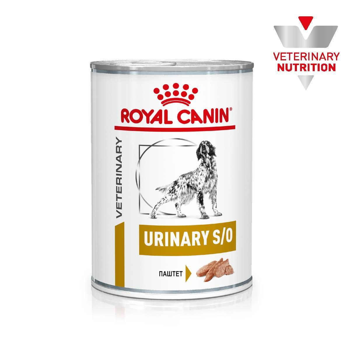 Влажный лечебный корм Royal Canin Urinary для собак, 0,41КГ