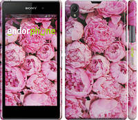 "Чехол на Sony Xperia Z1 C6902 Пионы v3 ""2739c-38"""