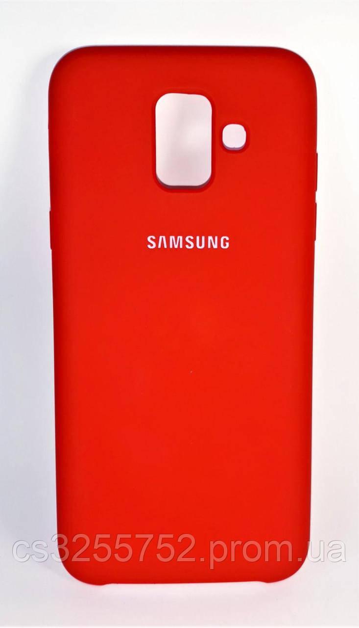 Накладка Samsung Galaxy A6  Red