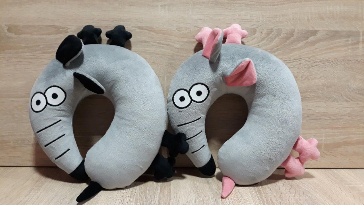 Автомобильная подушка подголовник Мышь / Крыса