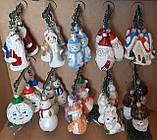 "Елочная игрушка ""Дед Мороз №1"" (9 см), фото 7"